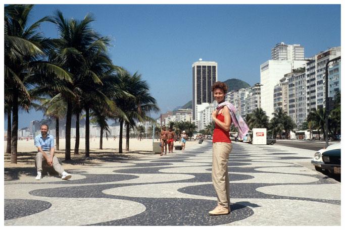 Copacabana, Rio de Janeiro, Familie Kaemmer,