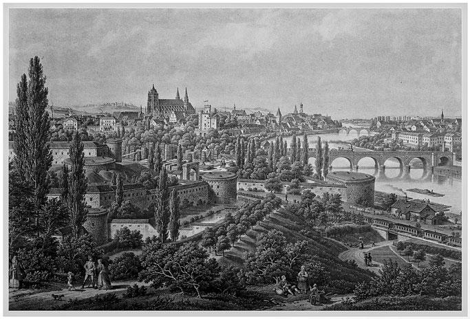 Lithografie von E. Emminger 1875