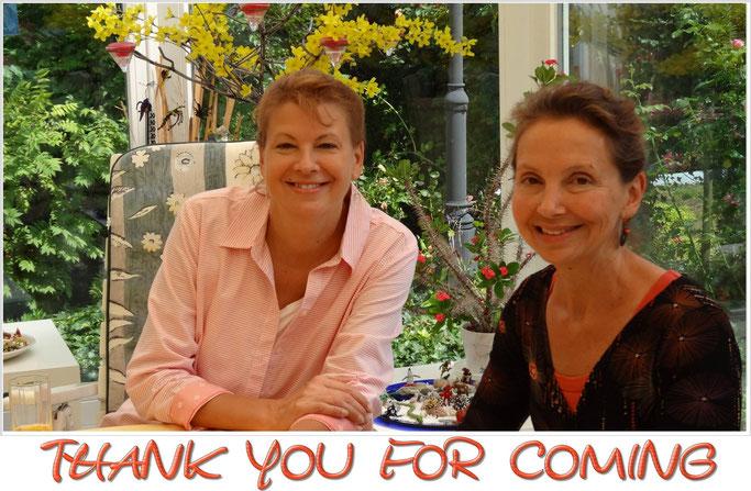 Überraschungsbesuch von Teri aus North Carolina und Karla aus Vermont  in Gannertshofen.