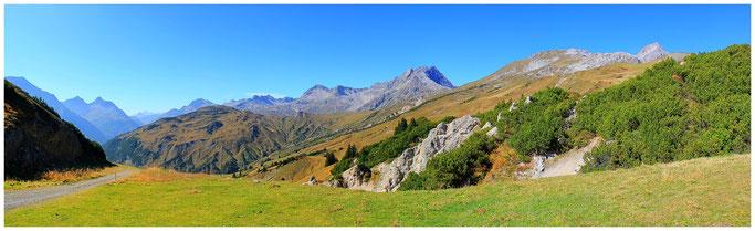 Zuger Hochlicht 2377m, Mohnenfluh 2544m, Juppenspitze 2412m