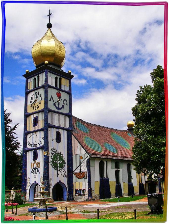 St.-Barbara-Kirche Bärnbach, 1987-1988