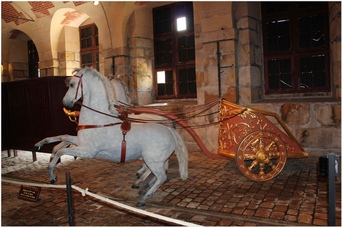 Kutschenmuseum Schloss Vaux-le-Vicomte