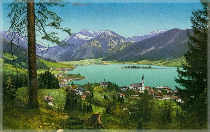 Ansichtskarte von Schliersee 1907