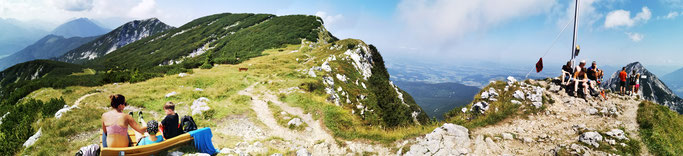 Das Gipfel-Panorama am Zwiesel