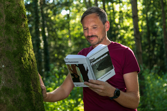 Bernhard Straßer und Axel Effner im Finsterwald