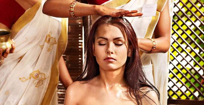 Aromatic Indian Head Massage bei Mavie - Yvonne Fester in Berlin!