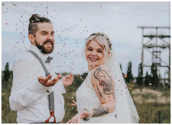Zechenfotos Hochzeit urbanstyle Westermanns Lünen