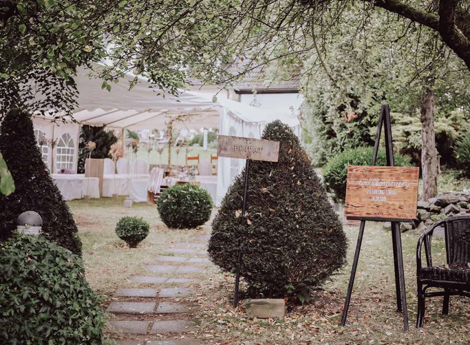 freie Trauung im Romantikhotel Neuhaus Iserlohn Hochzeitfeiern