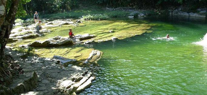 schöne Wasserstelle