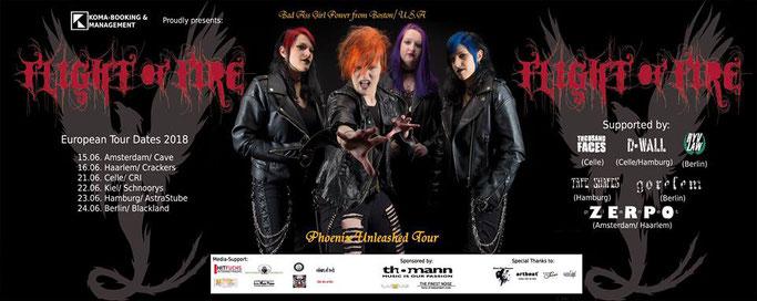 Flight Of Fire Path Of The Phoenix Tour 2018 Rock U Metalwebzine