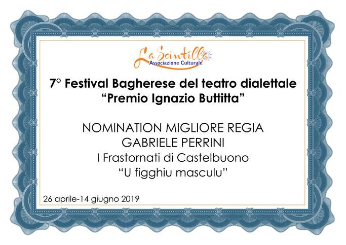 Nomination Migliore Regia