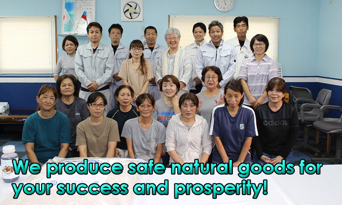 We produce safe natural goods for your success and prosperity!