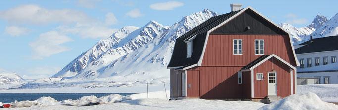 Ny Alesund - Forscherdorf nahe des Nordpols