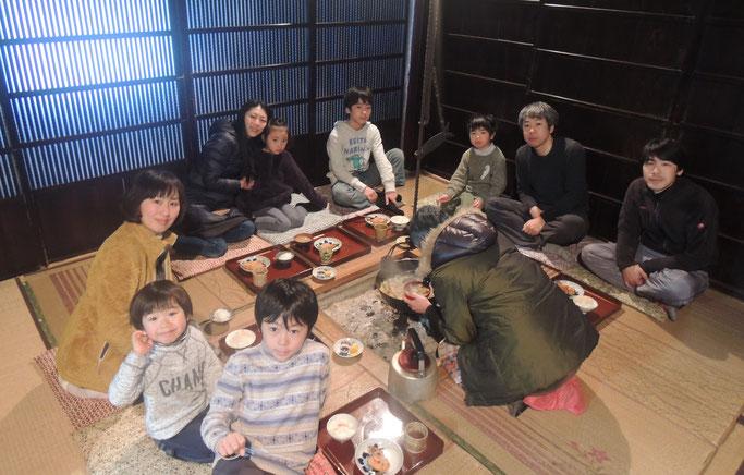 岡山県南、笠岡市への移住者仲間、お二家族で。