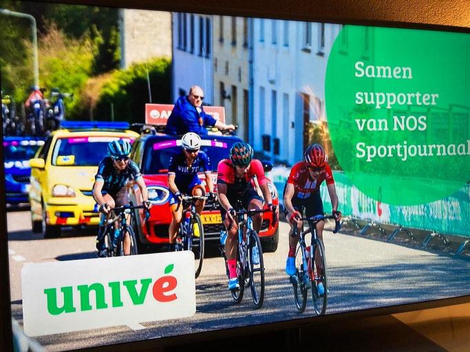 Stichting Sportdokters elke avond zichtbaar bij NOS Sportjournaal, Univé samen supporter van NOS Sportjournaal!