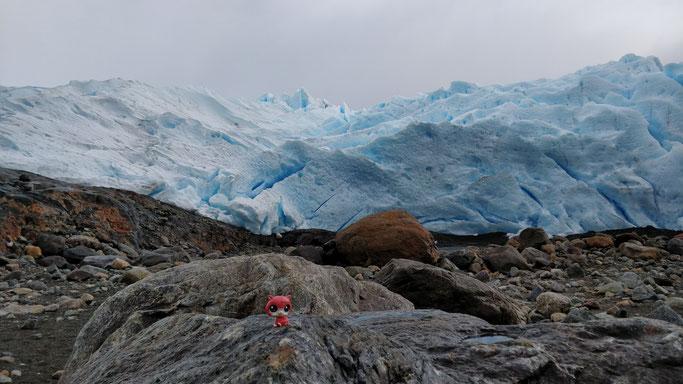 Jean-Mi admire le Perito Moreno