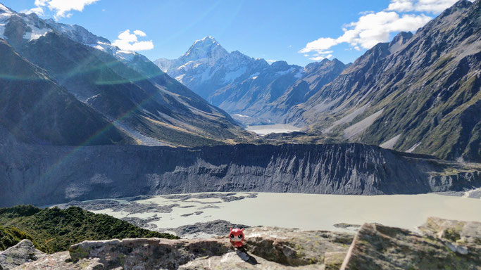 Jean-Michel à la découverte des glaciers