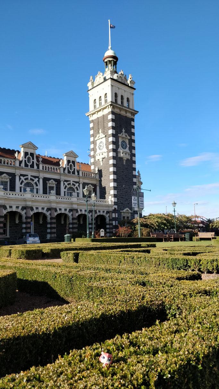 Jean-Michel va prendre le train à Dunedin