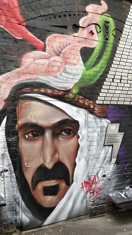 Jean-Mi street artist quasi incognito