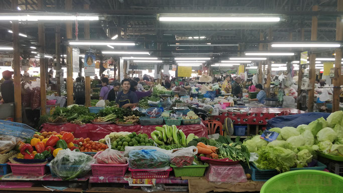 L'un des (nombreux) marchés de Chiang Mai