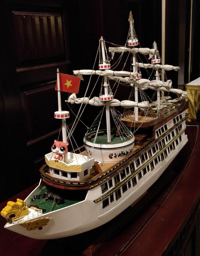 Jean-Michel capitaine d'un bateau