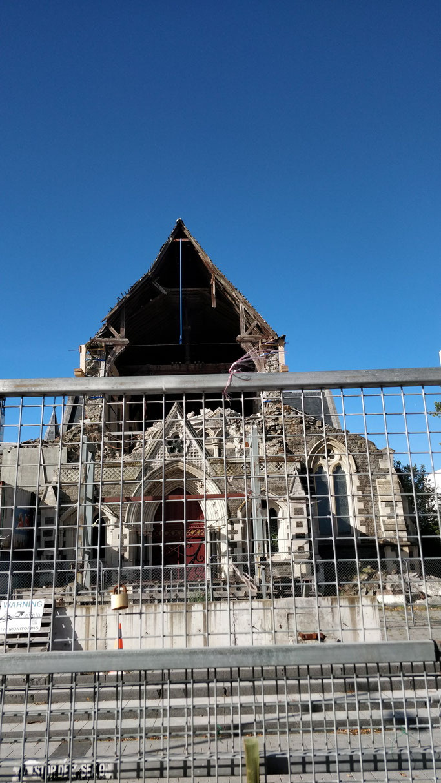 La cathédrale éventrée
