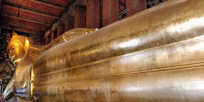 Wat Pho et son fameux Bouddha couché