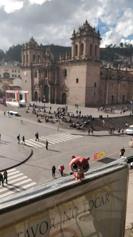 Jean-Mi prend des risques à Cusco