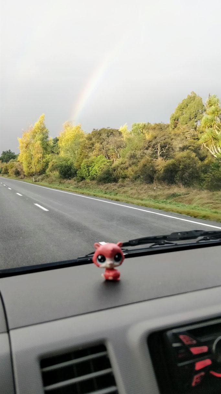 Road trip au pays des arcs en ciel