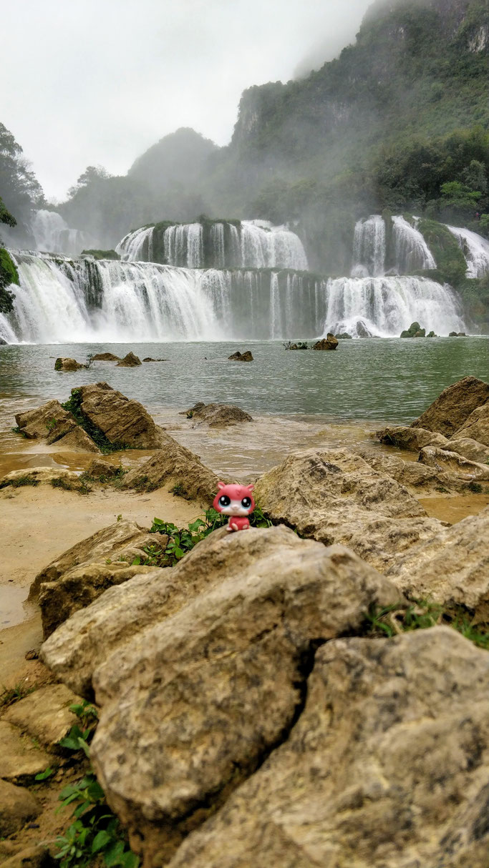Jean-Michel cascade de Ban Gioc