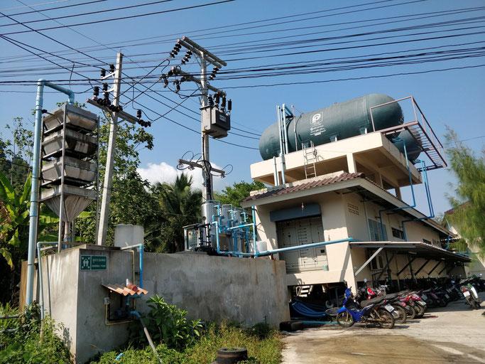 Installation de filtration d'eau et pompe à chaleur