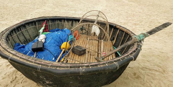 Jean-Mi pêche à Da Nang