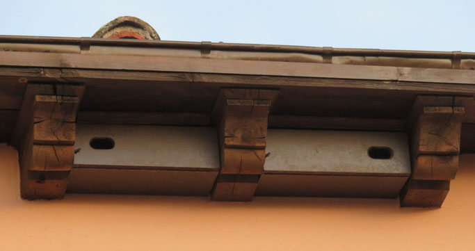 Detalles de los nidales instalados