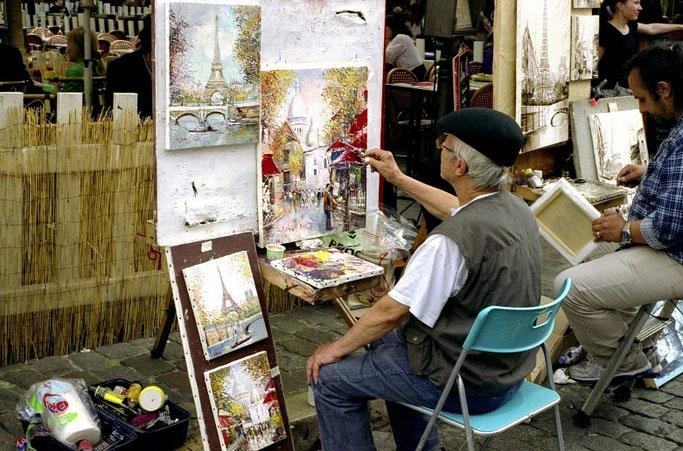 Paris 3 Tage Montmartre