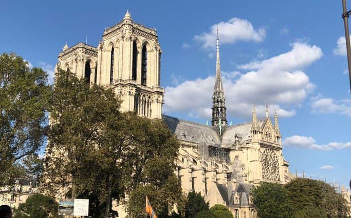 Notre Dame vor dem Brand
