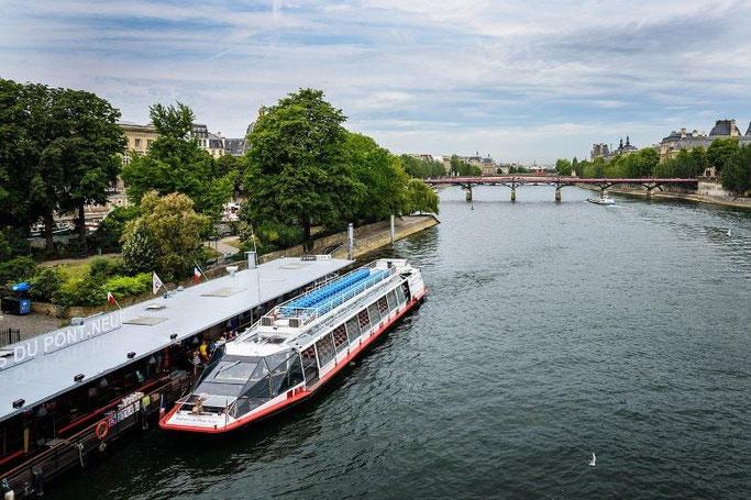 Parks in Paris an der Seine Square du Vert Galant