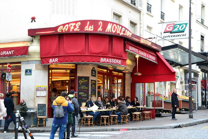 Cafe die fabelhafte Welt der Amelie Montmartre
