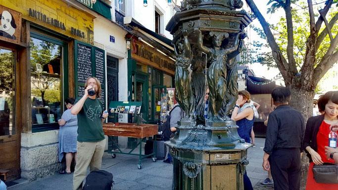 Trinkwasser in Paris