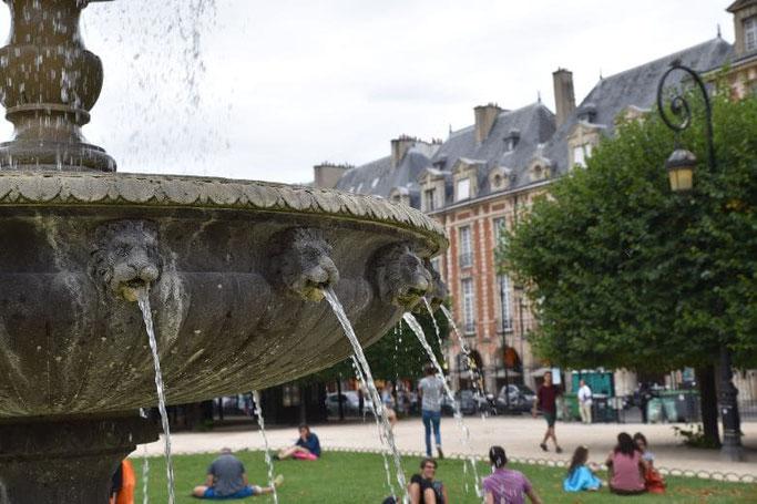 Place des Vosges Picknick Paris