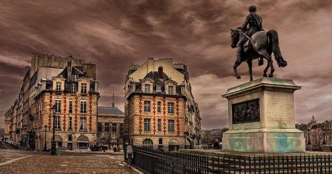 Notre Dame Paris Rundgang Place Dauphine