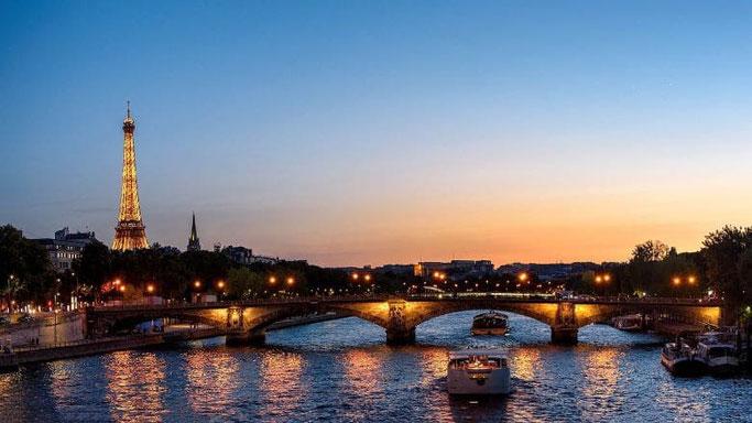 Flusskreuzfahrt Seine Paris