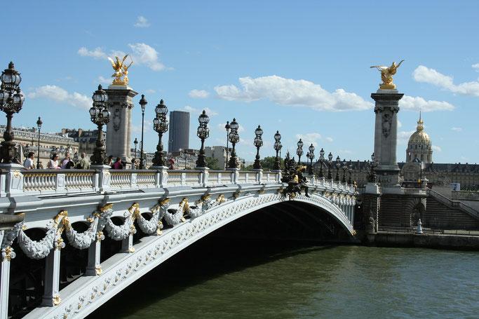 Paris Sehenswürdigkeiten Pont Alexandre III