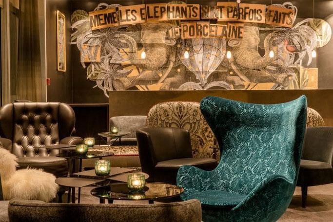 Paris Hotel Motel One Lobby