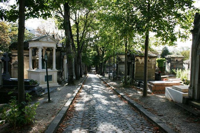 Friedhof Paris Père Lachaise