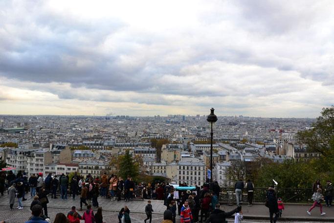 Sacre Coeur Paris Aussicht Montmartre