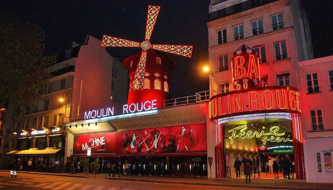 Paris Cabaret Moulin Rouge