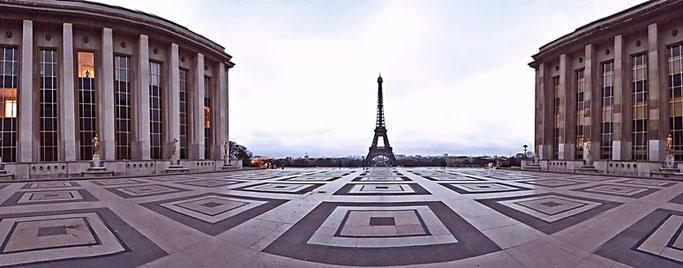 Paris 3 Tage Eiffelturm