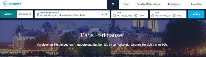 Paris Parken