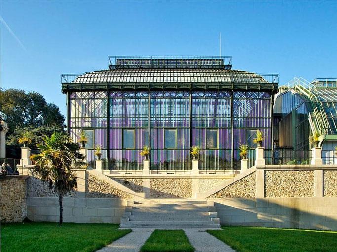 Jardin des Plantes Paris Gewächshäuser