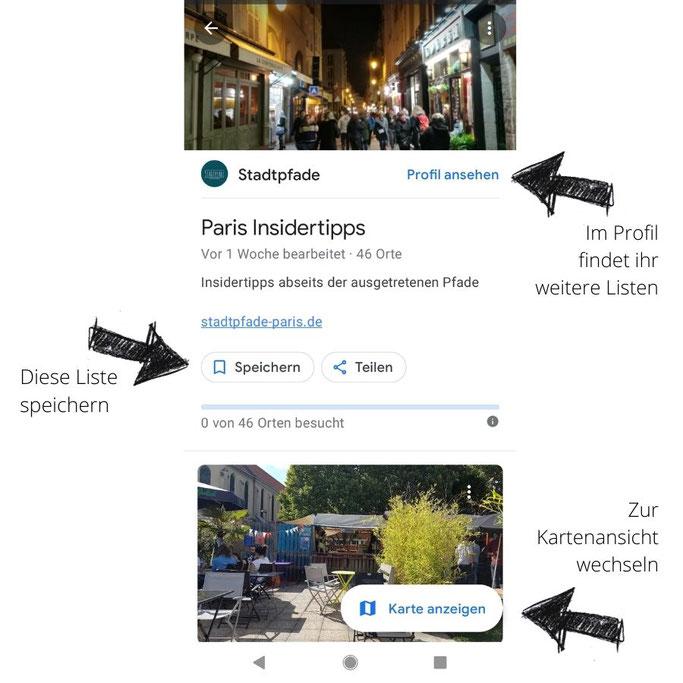 Paris Sehenswürdigkeiten Karte Liste Insidertipps